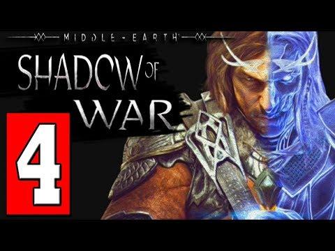 SHADOW OF WAR Walkthrough Gameplay Part 4 - Baranor (Middle-earth)
