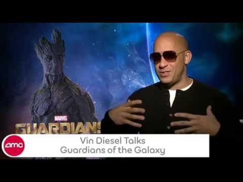 Vin Diesel Talks GUARDIANS OF THE GALAXY With AMC