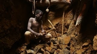 A Child's Workday in the Burkina Faso Gold Mine 7/10/13
