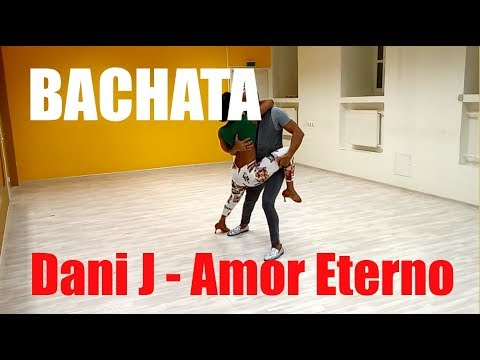 Красивый танец бачата Dani J - Amor Eterno   Школа танцев A4G Dance