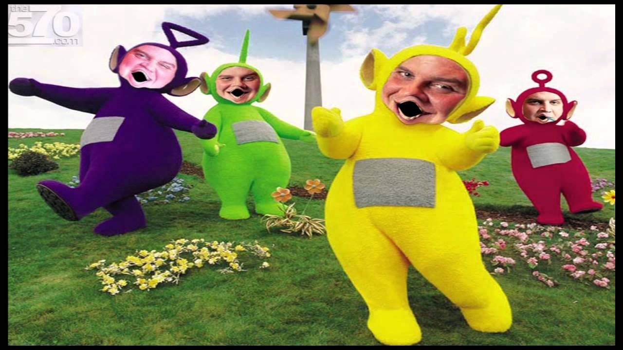 mutant teletubbies sing the original witch doctor song