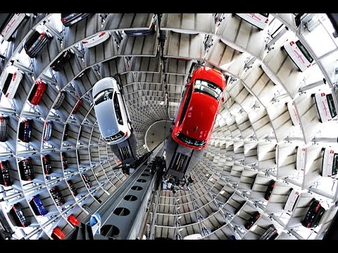 Automated Car Parking System   CARS   SAVE CAR CRASH # CAR PARKING TECHNIQUE * CHINA VS GERMANY