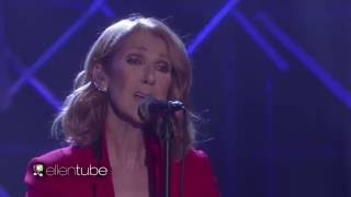 Celine Dion - Recovering (Live on Ellen Show, September 12th 2016)