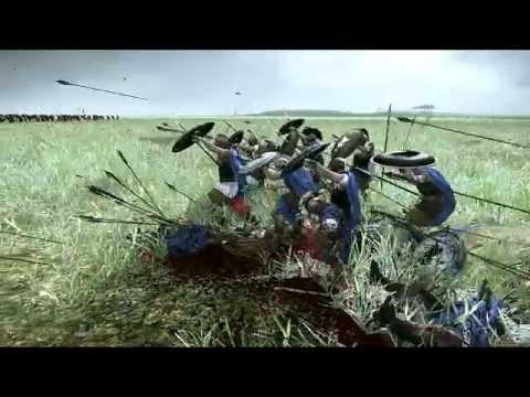 100 Picked Hoplites vs 2000 Archers Rome 2 Total War