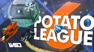 POTATO LEAGUE #6   Rocket League Funny Moments & Fails