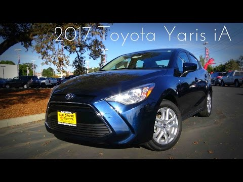 2017 Toyota Yaris iA 1.5 L 4-Cylinder Review