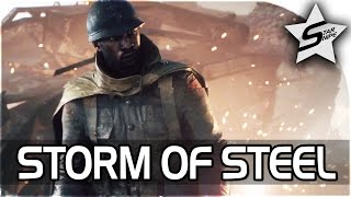 Battlefield 1 Single Player Gameplay - Storm of Steel Part 1 (Battlefield 1 Story Campaign Prologue)