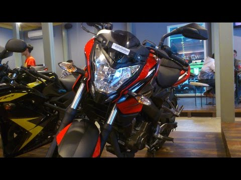 Kawasaki Bajaj Pulsar 200NS Review Bahasa Indonesia
