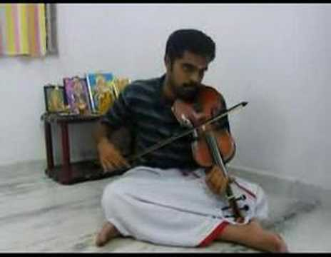 Kurai Ondrum Illai In Violin By Subramoni Rengarajan video