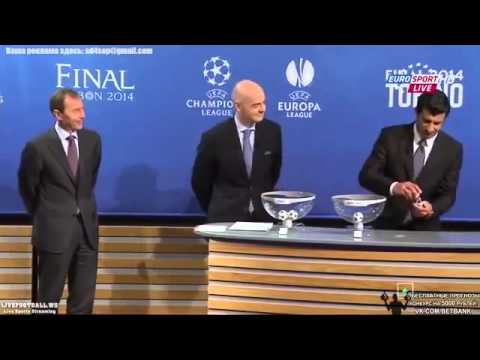 Sorteo Semifinales UEFA Champions League 2014 ~ Draw of the Semi finals 1 2 Finals 2013 2014