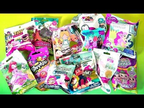 Blind Bags Collection Paw Patrol Pets Sofia MLP Peppa Pig Disney Princess Mashems Fashems Funtoys