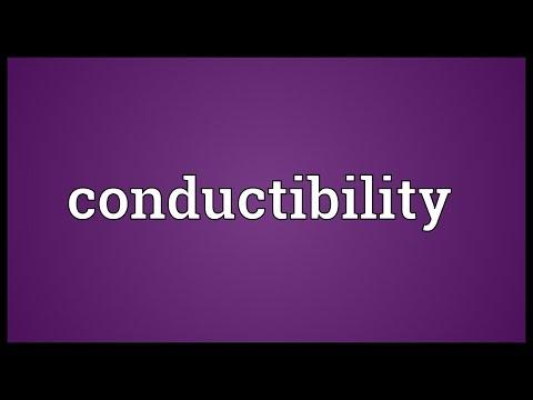 Header of conductibility