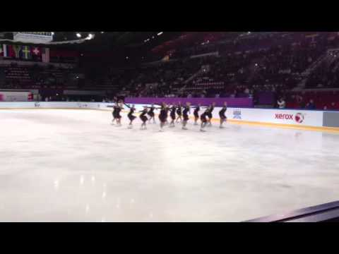 Team Finland 2 Long Program ISU World Junior Synchronized S