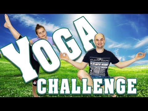YOGA CHALLENGE//Йога челендж!