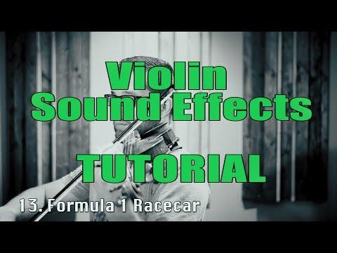 TUTORIAL - Crazy Sound Effects on a Violin (Daniel Blair)