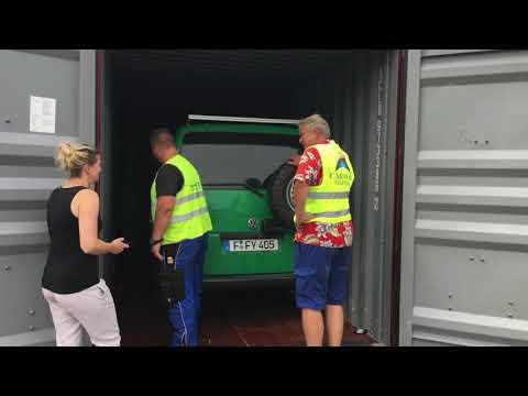Reisemobil Container Verschiffungen mit Caravan Shippers GmbH in Hamburg