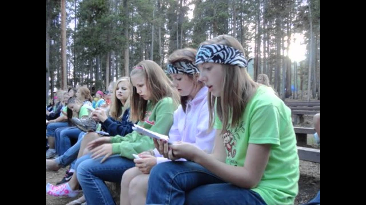 It's just a picture of Slobbery Lds Girls Camp