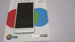 Micromax Canvas Hue Unboxing and Hands On