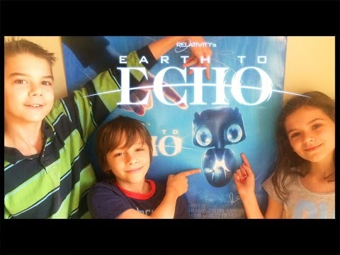 Earth To Echo Movie Review & Cast Interview!  | KittiesMama