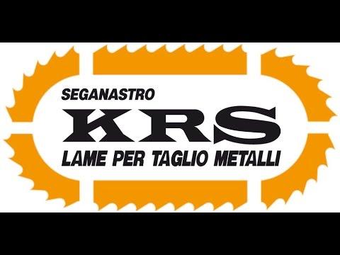 KRS Lame a Nastro di Qualità per il Taglio dei Metalli - YouTube