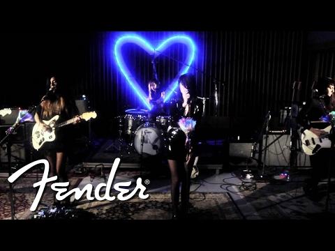 Fender Studio Sessions: Dum Dum Girls Perform
