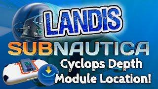 Cyclops Depth Module - Subnautica Guides (ZP)