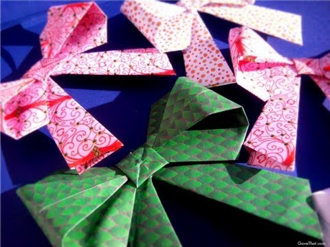 How To: Origami Gift Bows