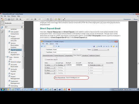 45 Minute Intro to Sage 100 Contractor 2013 by Heather Hatzenbuehler