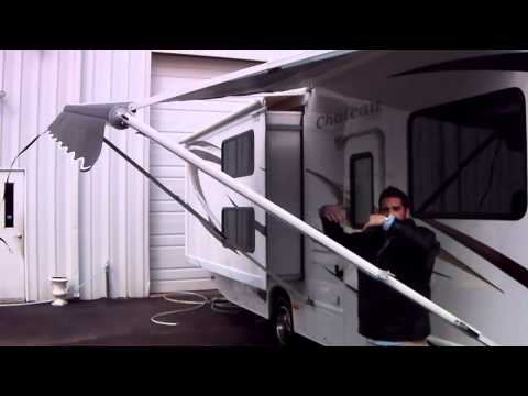Awning - How-to Operate - RV, Travel Trailer, or Motor Home