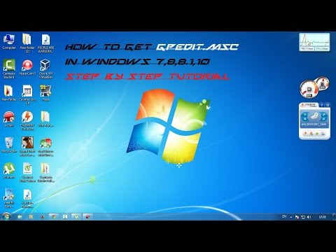 How to get GPedit.msc on Windows 7,8,8.1,10