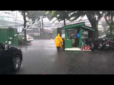 Rainy season in jakarta :/
