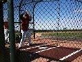 Xavier Nady batting practice