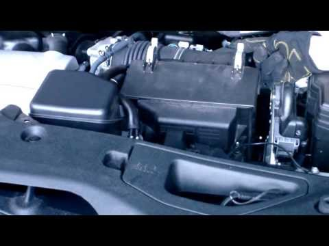 DIY How to Replace/Install Engine Air Filter Element LEXUS RX350 - 2010. 2011 & 2012