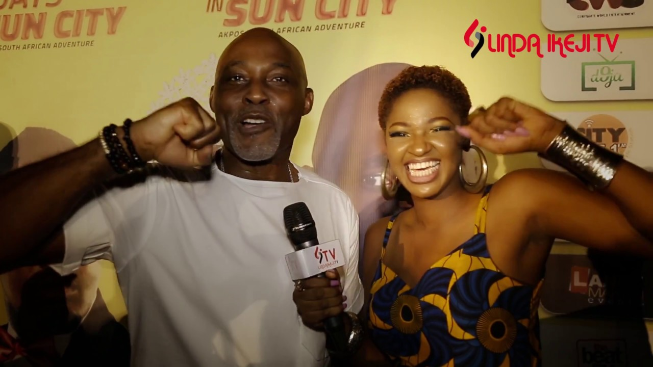 Lagos Premiere of 10 Days in Sun City on The Red Carpet - Linda Ikeji TV