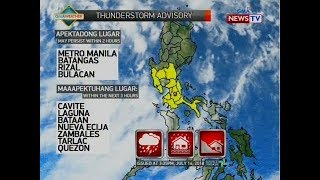 NTVL: Weather update as of 4:28 p.m. (July 14, 2018)