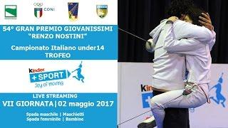 54° GPG - TROFEO KINDER +SPORT - VII GIORNATA - Live Streaming