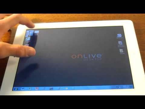 How to get Microsoft Office for your iPad Using OnLive Desktop