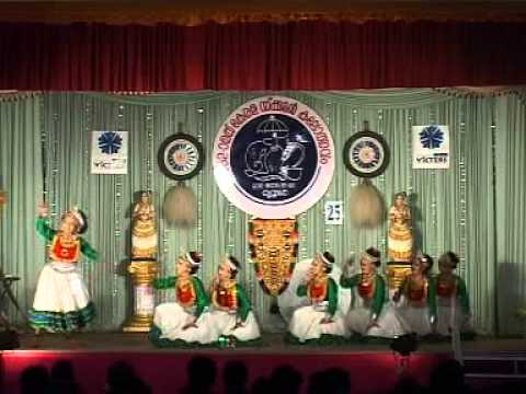 Kerala School Kololsavam Group Dance 2012 video