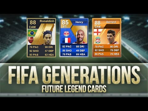 FIFA Generations   Ronaldinho. Henry. Gerrard & More! Future Legend Cards?
