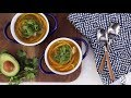 Soup Recipes - How to Make Butternut Squash Noodle Soup with Turkey
