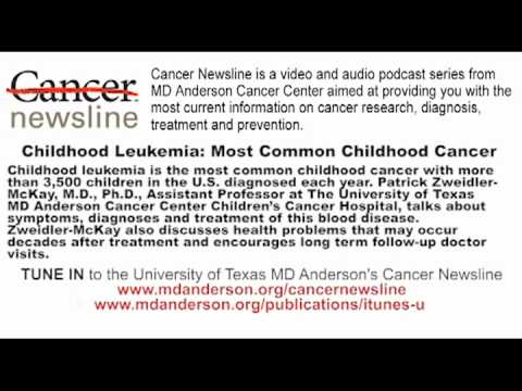Childhood Leukemia: Most Common Childhood Cancer