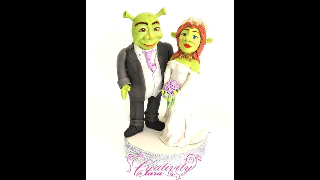 Shrek Fiona Cake Topper