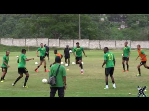 'Reggae Boyz' train in preparation for CONCACAF World Cup qualifier against Mexico - SportsXplorer