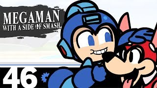 Megaman with a side of SMASH!