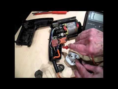 Black & Decker FAULT FINDING.Power Drill