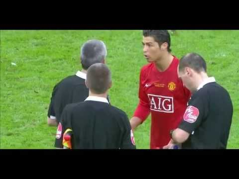 Cristiano Ronaldo vs Tottenham (Carling Cup Final) 08-09 HD 720p by Hristow (Cropped)