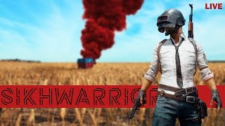 Sikhwarrior 🍗 Chicken Dinners with Ad1 🍗 PUBG INDIA LIVE