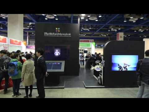 Time lapse video from Seoul Photo & Imaging 2014