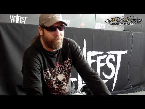 Cannibal Corpse interview (Rob Barrett) @ Hellfest 2012 - Metal Sickness
