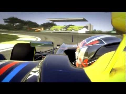 F1 2012 Brazil  Hot Lap Red Bull [1:10:433] Codemasters [No Assist] Setup